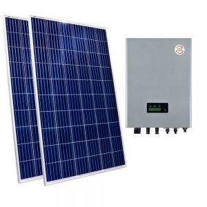 kit fotovoltaico conexión a red