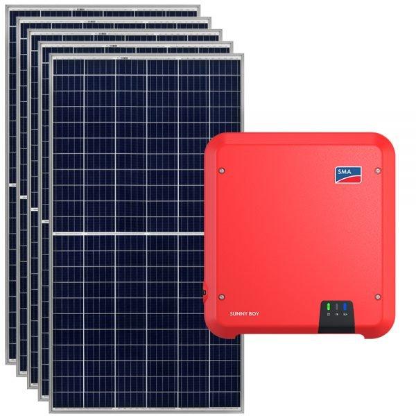 kit fotovoltaico conectado a red sma