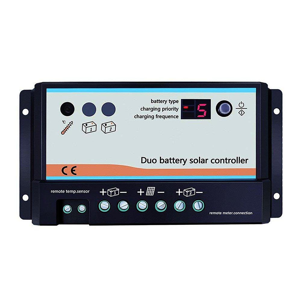 regulador de carga para dos baterías