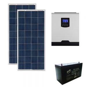 kit fotovoltaico aislada