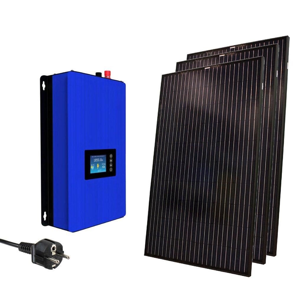 kit solar conexión a red