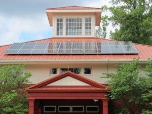 casa energía solar